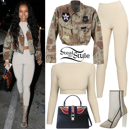 Karrueche arriving at Catch LA in West Hollywood. December 29th, 2016 - photo: FameFlynet