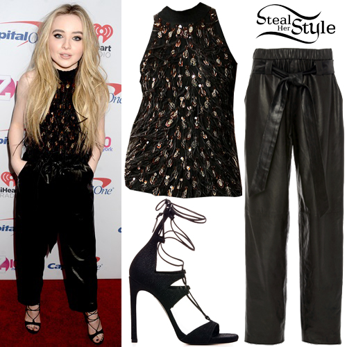 Sabrina Carpenter at the Z100 Jingle Ball 2016 at Madison Square Garden. December 9th, 2016 - photo: PacificCoastNews