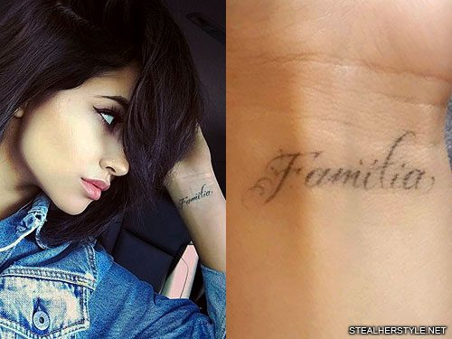 becky g s 4 tattoos meanings steal her style