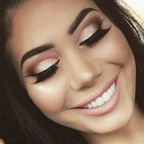 Chloe Ferry Makeup Black Eyeshadow Brown Eyeshadow