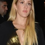 159586, Ellie Goulding leaving the arts club in a full length metallic gold gown. London, United Kingdom - Tuesday November 22, 2016. Photograph: © Palace Lee, PacificCoastNews. Los Angeles Office (PCN): +1 310.822.0419 UK Office (Photoshot): +44 (0) 20 7421 6000 sales@pacificcoastnews.com FEE MUST BE AGREED PRIOR TO USAGE
