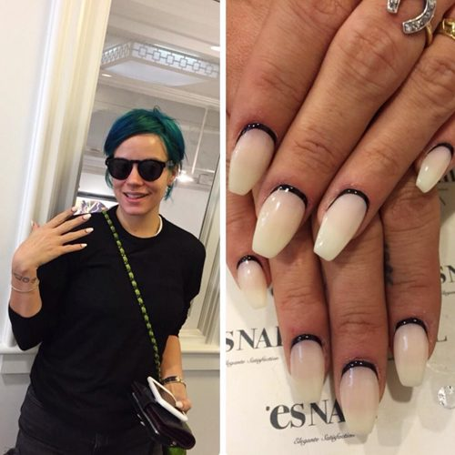 Lily allens nail polish nail art steal her style lily allen nails prinsesfo Image collections