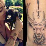 paris-jackson-deer-tattoo