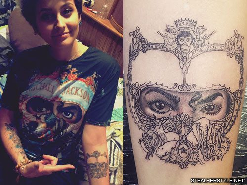 Paris Jackson Tattoos