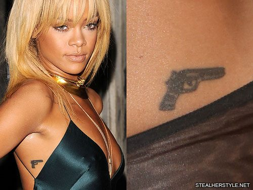Rihanna S Tattoos Meanings Steal Her Style