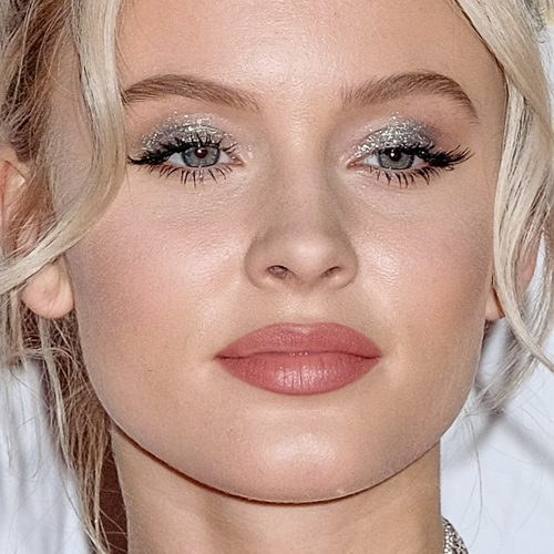 Brown Eye Close Up Zara Larsson Makeup: B...