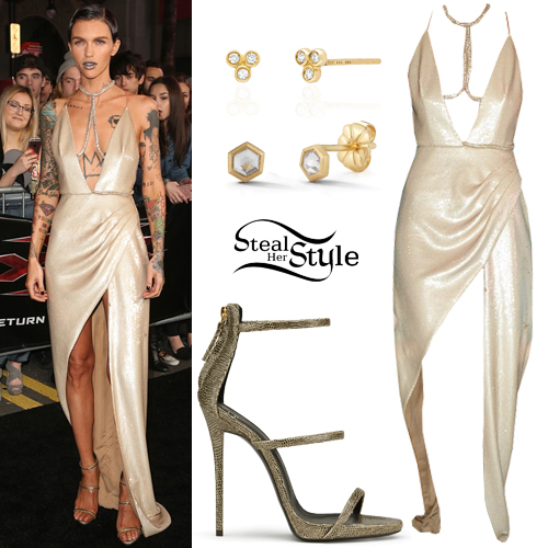 Ruby Rose Clothes Amp Outfits Steal Her Style