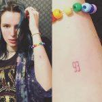 Bella Thorne Tattoos