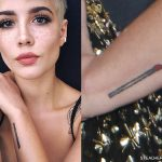 Halsey tattoos
