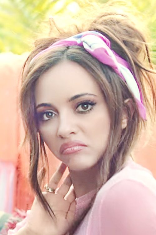 Jade Thirlwall Wavy Medium Brown Face Framing Pieces