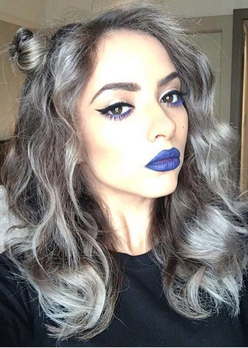 41 Hairstyles With Silver Highlights Highlights Steal