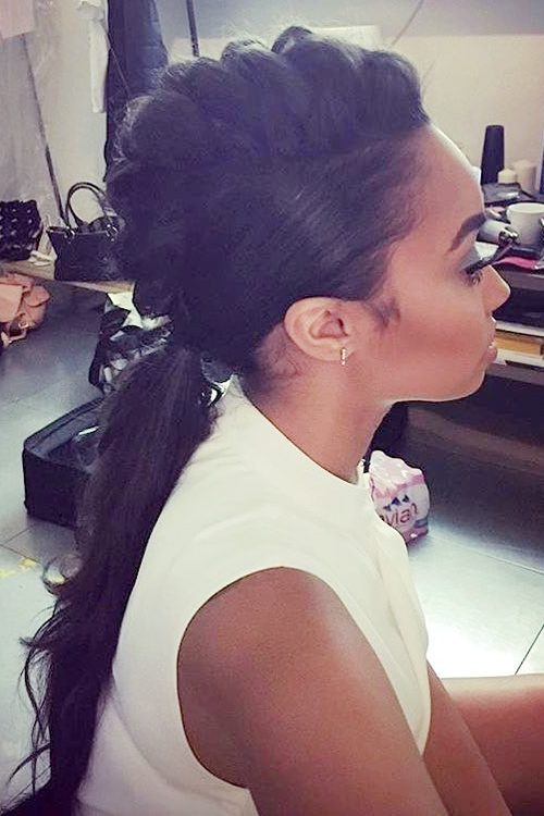 Leigh Anne Pinnock S Hairstyles Amp Hair Colors Steal Her