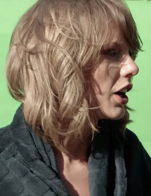 Taylor Swift Wavy Light Brown Barrel Curls, Bob, Choppy ...