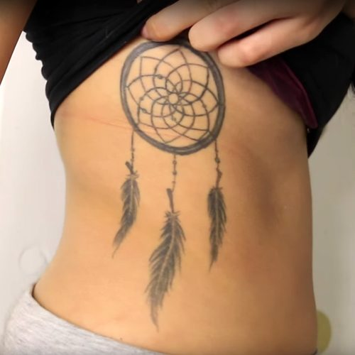 Dream Catcher Tattooes 40 Celebrity Dreamcatcher Tattoos Steal Her Style 30