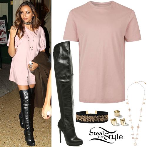 1df91b74009 Jade Thirlwall · Pink T-Shirt