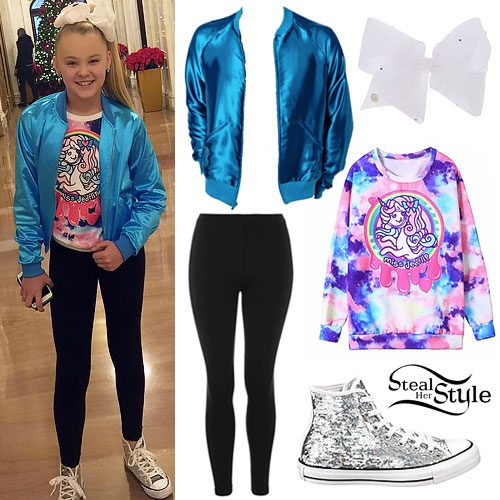 JoJo Siwa: Shiny Bomber, Unicorn Top