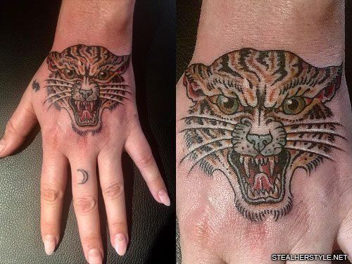 2e0689ab6 11 Celebrity Tiger Tattoos   Steal Her Style