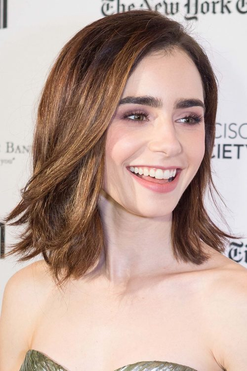 Lily Collins Hairstyles & Hair Colors | Steal Her Style