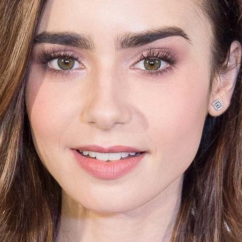 Lily collins no makeup
