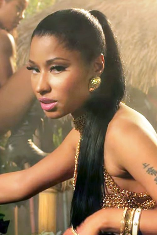 nicky minaj hair style nicki minaj hairstyles ponytail hairstyle ideas 5541
