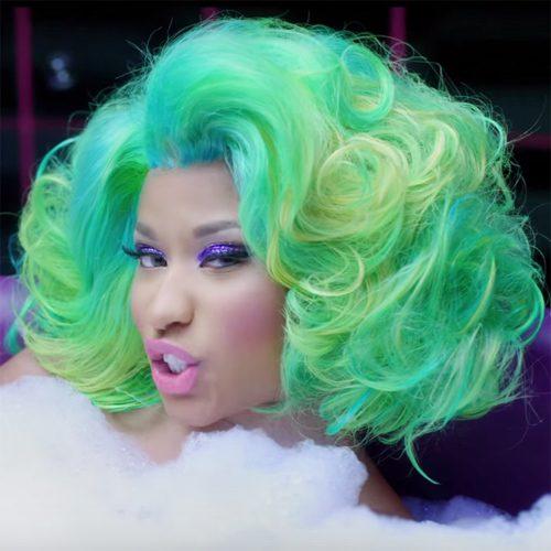 1ae9adc984e Nicki Minaj s Hairstyles   Hair Colors