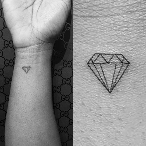 reginae carter diamond wrist tattoo | steal her style