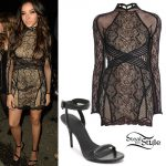 Tinashe: 2017 CAA Pre-Grammy Outfit