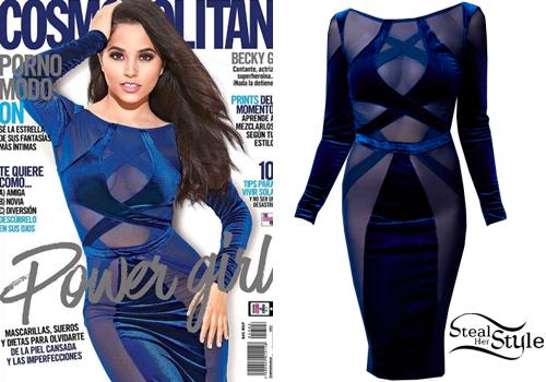 Cosmopolitan style dress