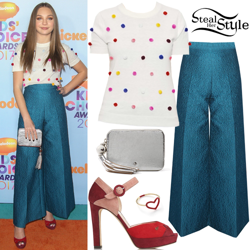 Maddie Ziegler 2017 Kids Choice Awards Outfit Steal Her