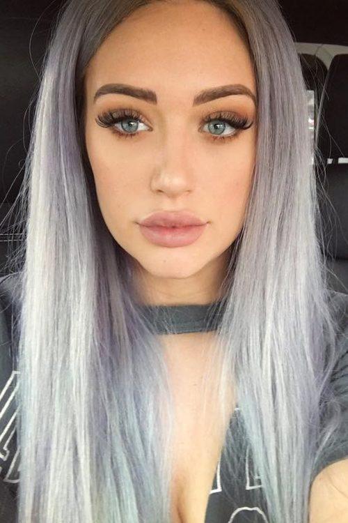 Anastasia Karanikolaou S Hairstyles Amp Hair Colors Steal