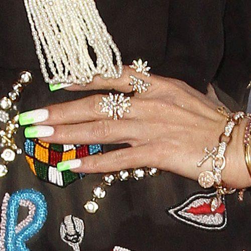 Gwen Stefanis Nail Polish Art