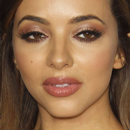 jade thirlwall makeup black eyeshadow bronze eyeshadow mauve lipstick steal her style. Black Bedroom Furniture Sets. Home Design Ideas