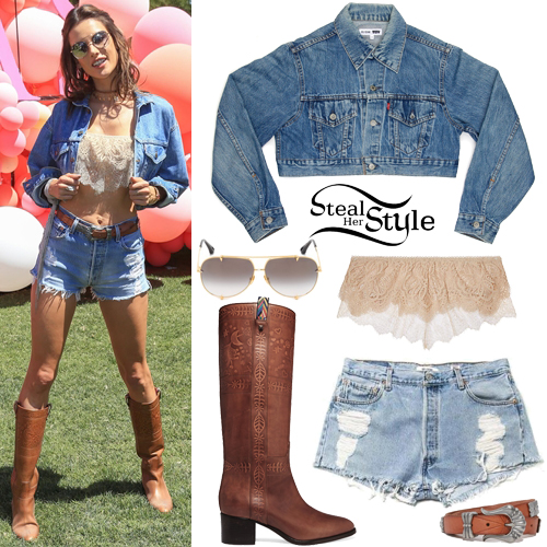 efd6725a1bd6e Alessandra Ambrosio Clothes & Outfits | Steal Her Style