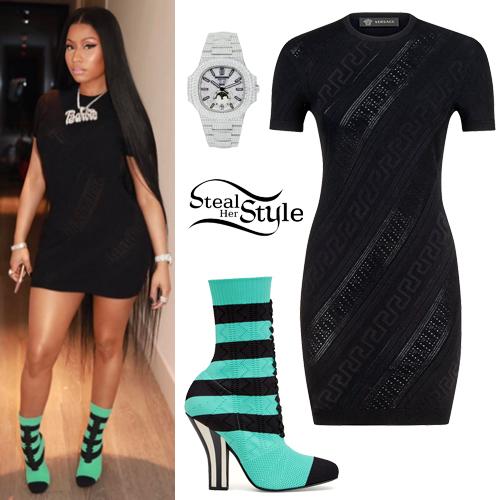 Nicki minaj collection black dress