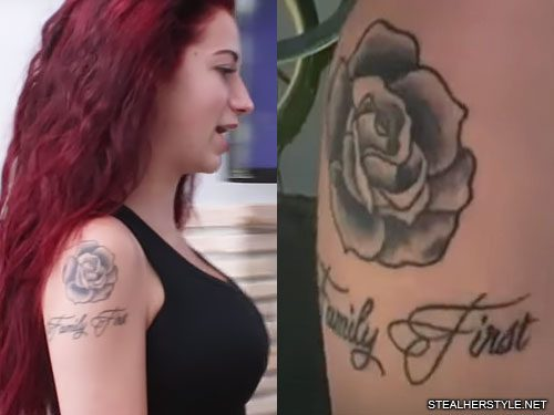d121b38d0fc94 Danielle Bregoli's 16 Tattoos & Meanings   Steal Her Style   Page 2
