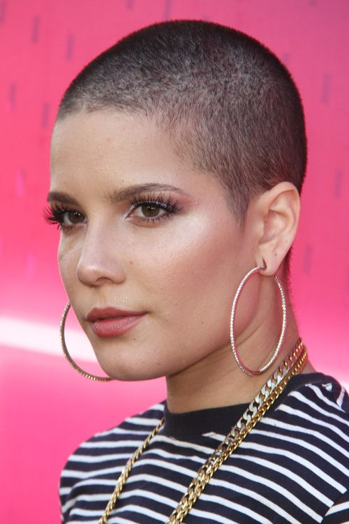 Halsey S Hairstyles Amp Hair Colors Steal Her Style