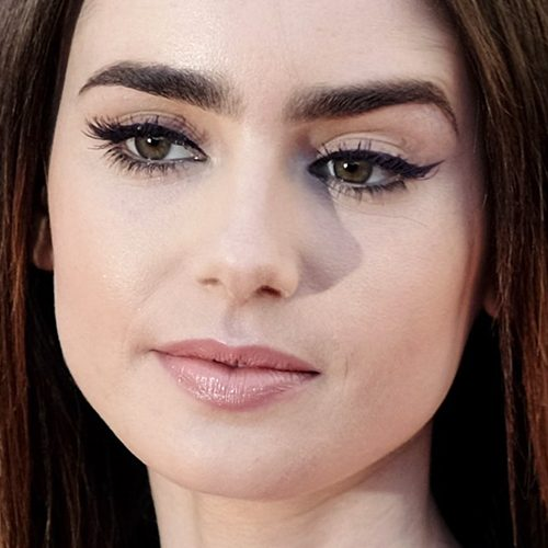 Lily Collins Eye Makeup Cat Eye Makeup