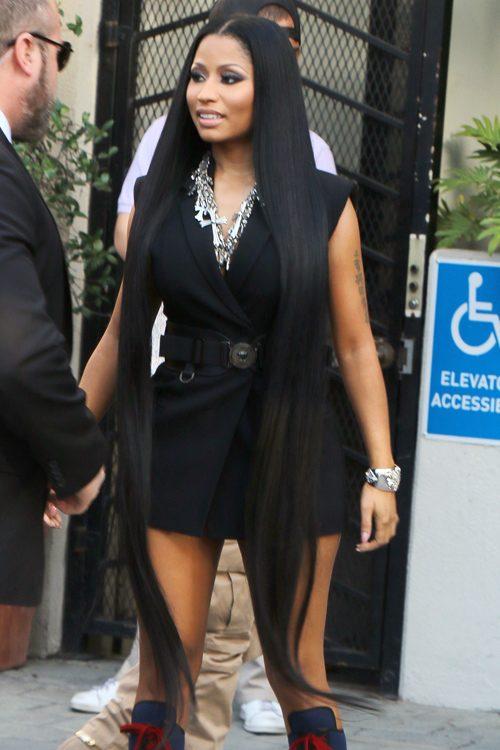 Nicki Minaj S Hairstyles Amp Hair Colors Steal Her Style