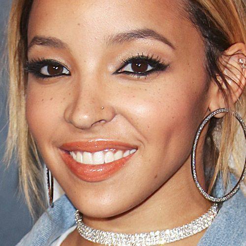 Tinashe Makeup: Black Eyeshadow, Brown Eyeshadow, Gray