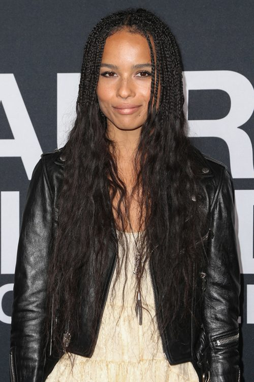 Zo 235 Kravitz S Hairstyles Amp Hair Colors Steal Her Style