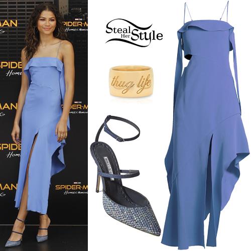 K c undercover blue dress ralph