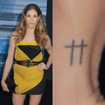 Allison Holker Tattoos