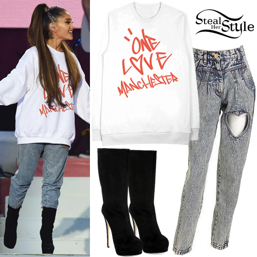 Ariana Grande One Love Manchester Outfit