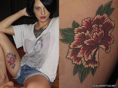 Asia argento 39 s 22 tattoos meanings steal her style for Tattoo photos 2017