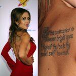 Brittney Palmer Tattoos