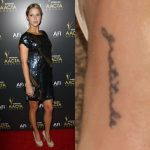 Claire Holt Tattoos