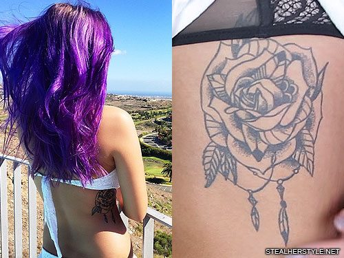 2d29d884f68e7 Dagi Bee's 6 Tattoos & Meanings | Steal Her Style