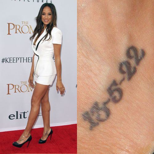 5 Numerology Tattoo Photos & Meanings   Steal Her Style
