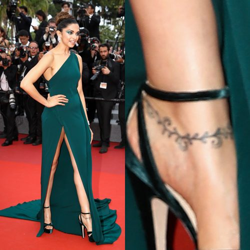 Image result for deepika foot tattoo
