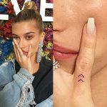Hailey Baldwin Tattoos